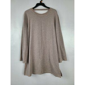 PST Los angles Womens Sweatshirt Dress XS Beige